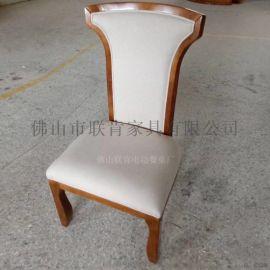 北欧轻奢餐椅子家用现代简约凳子靠背椅铁艺化妆椅皮革软包休闲椅