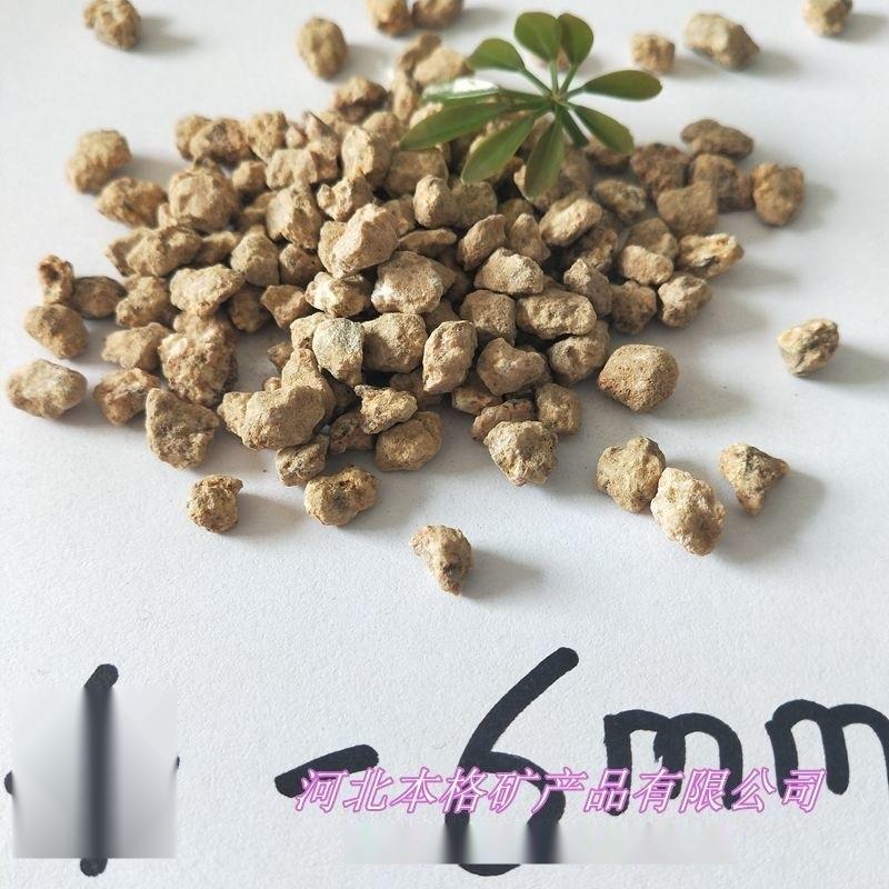 本格厂家直销 多肉黄金软麦饭石3-5mm