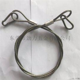 7*19股不锈钢5.0mm钢丝绳索具安全拉索钢丝绳