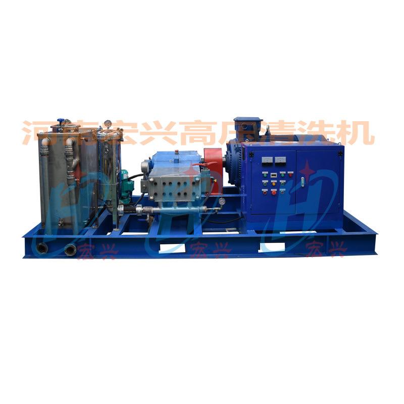 1400公斤换热器冷凝器高压清洗机 河南高压清洗机 电动高压清洗机