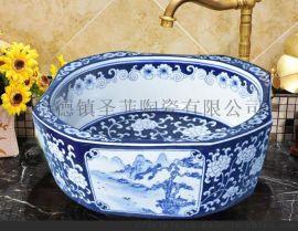 酒店中式陶瓷洗漱盆什么款式的好可以定制风格怎么选
