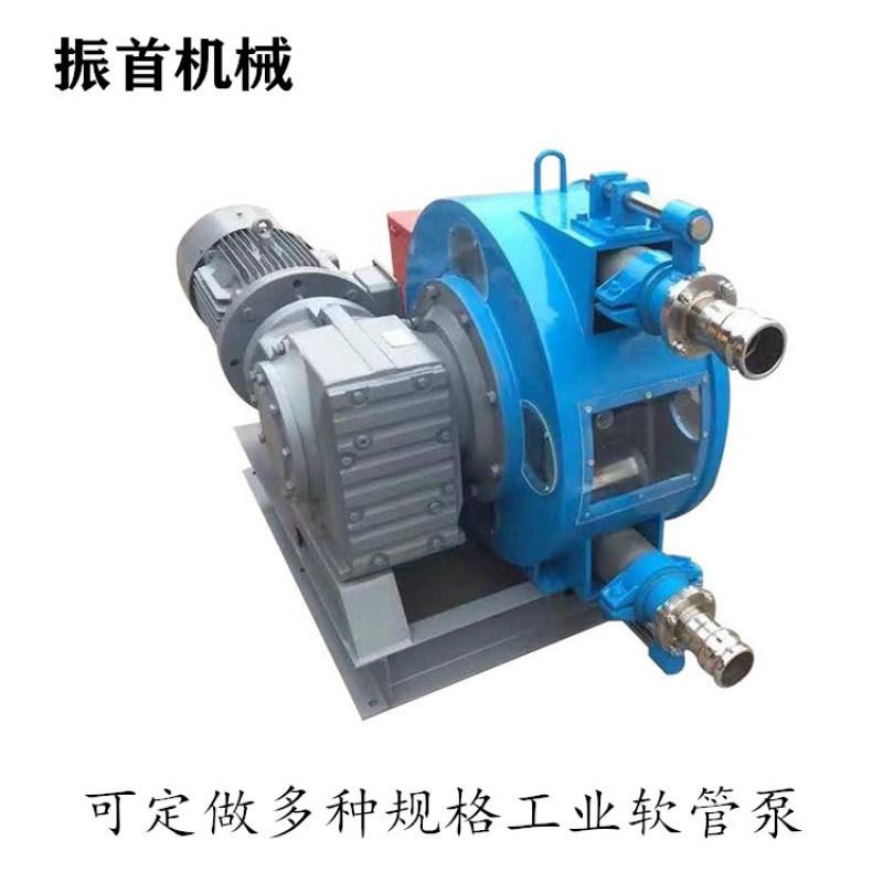吉林四平臥式軟管泵工業擠壓泵廠家現貨供應