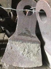双液压复合锤头环锤式破碎机耐磨锤头高锰钢高铬锤头
