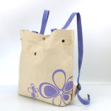 來樣定製女士帆布袋環保時尚購物袋可印LOGO