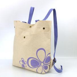 来样定制女士帆布袋环保时尚购物袋可印LOGO