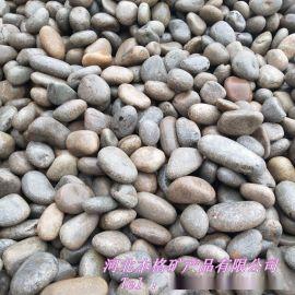 公园填充鹅卵石 水族过虑五色鹅卵石 天然河道鹅卵石