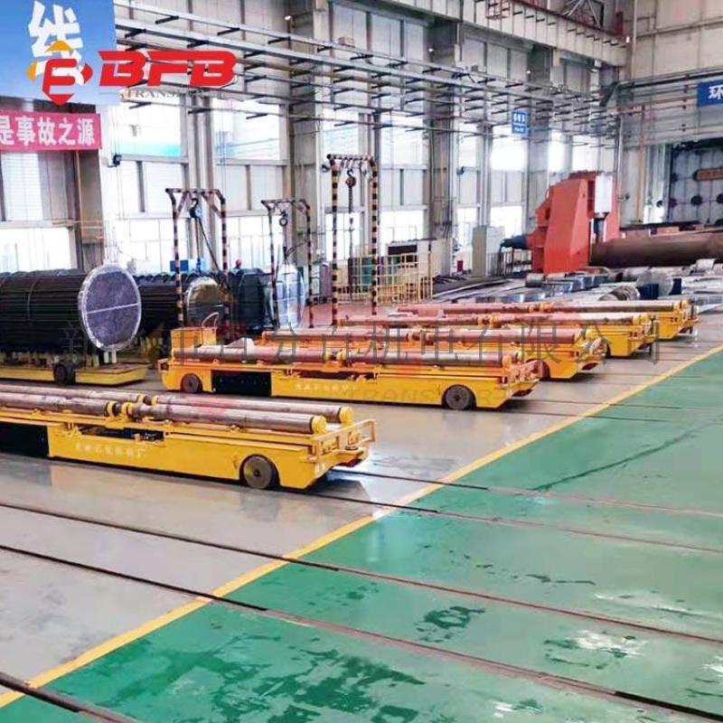 滑触线电动轨道车 滑触线RGV运输车 喷砂转运车