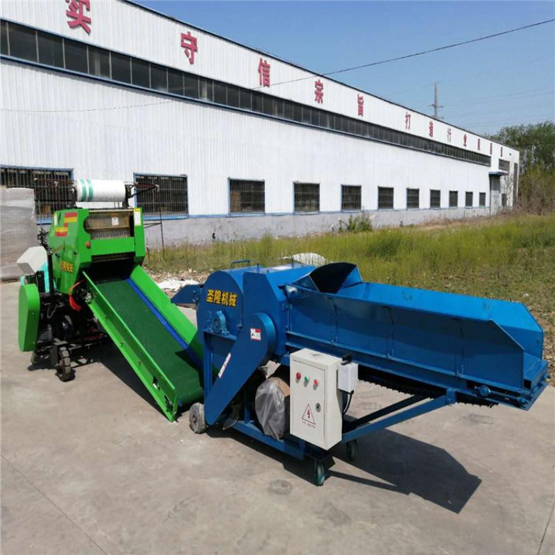 青储玉米秸秆打包机,青贮打捆机