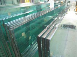12,15,19mm超大超厚超长白玻超白钢化玻璃