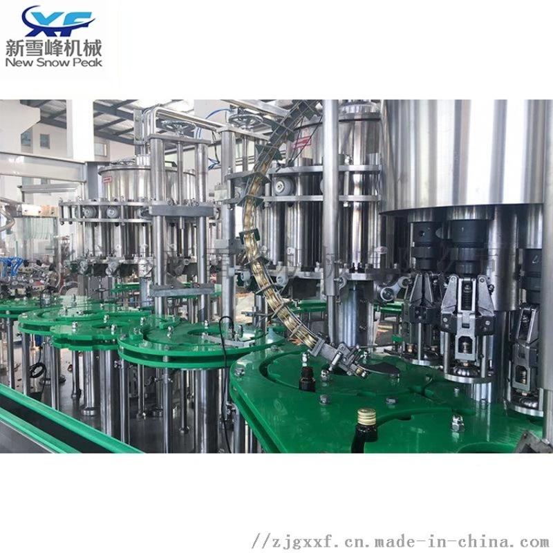 玻璃瓶啤酒灌装机 液体全自动灌装机