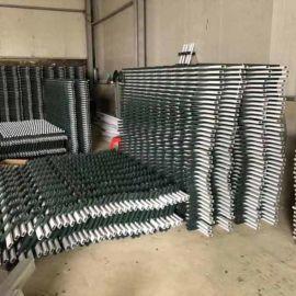 工厂围墙栅栏 pvc塑钢护栏型材