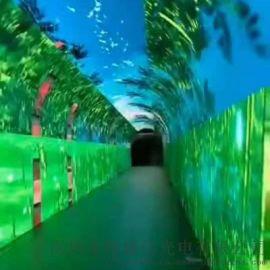 深圳海威信光电led全彩显示屏led时光隧道
