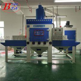 铝型材全自动输送式喷砂机