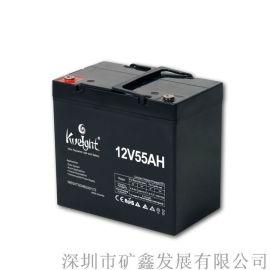 Kweight矿鑫厂家直销12V40AH蓄电池 EPS电源专用蓄电池 直流屏电源专用蓄电池