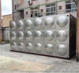 英德不锈钢水箱组合生活水箱消防水箱生活水箱水塔