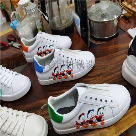 板鞋彩色印刷机 板鞋彩印设备高弧度鞋材彩印