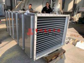 不锈钢蒸汽散热器 管式翅片换热器