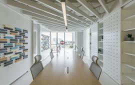 办公室装修装饰墙面及顶面材料的选择