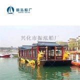 畫舫船|貢多拉木船|烏篷船|歐式船|餐飲船