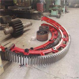 江苏烘干机大齿轮厂价直销钢制2000烘干机大齿圈