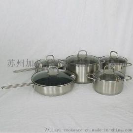 厂家直销JY-HJ系列不锈钢炊具套装