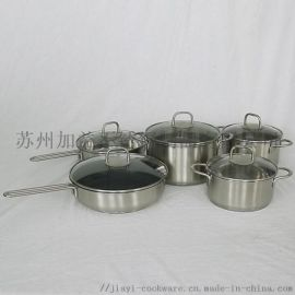 廠家直銷JY-HJ系列不鏽鋼炊具套裝
