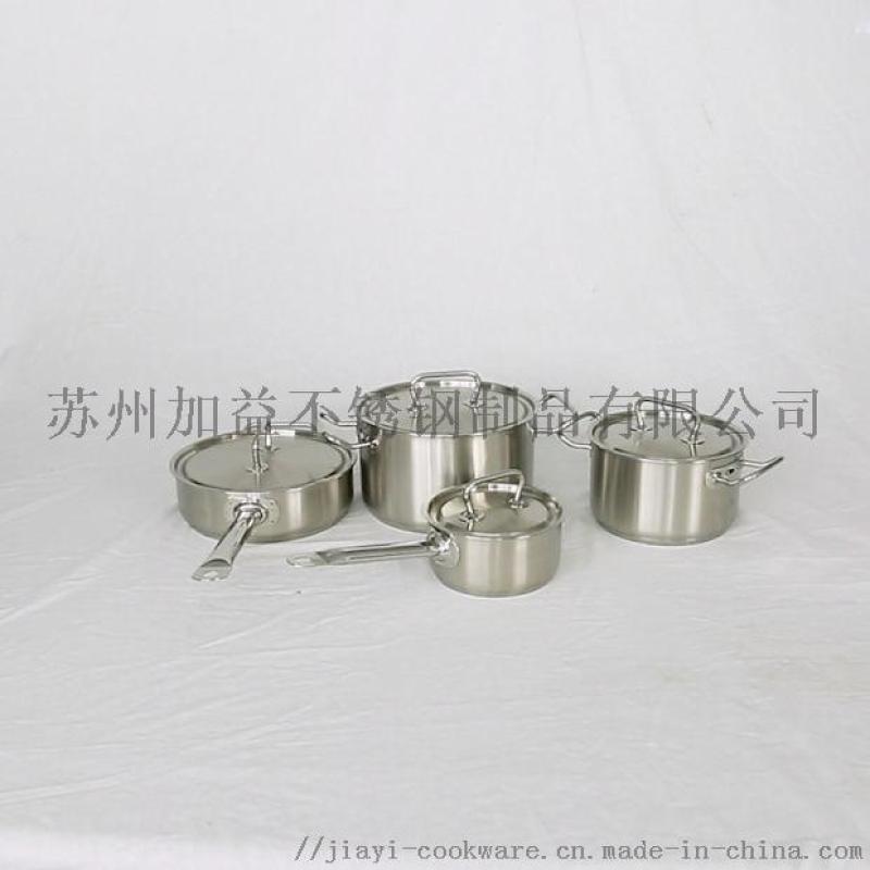 厂家直销JY-DGB系列SUS304不锈钢炊具套装