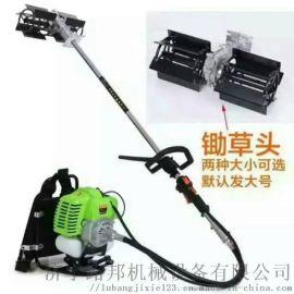 GX35汽油背负式割草机 锄草松土机 侧挂式打草机