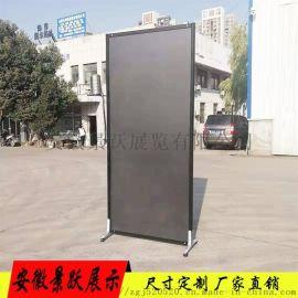 黑色八棱柱展板 便携式移动展板