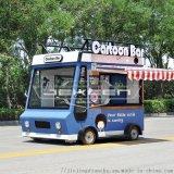 街景店车电动小吃车 移动推车餐车 摆摊多功能房车