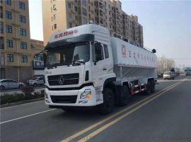 国六东风天龙  后八40方20吨电动散装饲料运输车