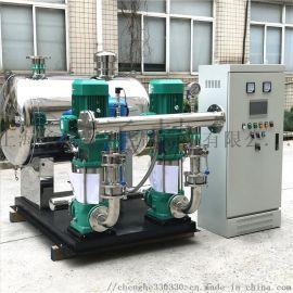 进口威乐水泵配套不锈钢管网叠压无负压变频供水设备