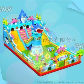 浙江金华小丑充气城堡,大型充气蹦床公园经营好
