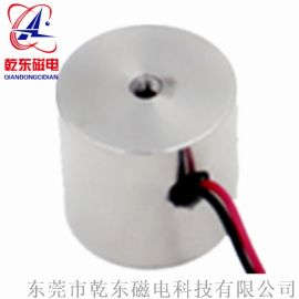 印刷机用圆形小吸盘电磁铁QDD3025L厂家直销