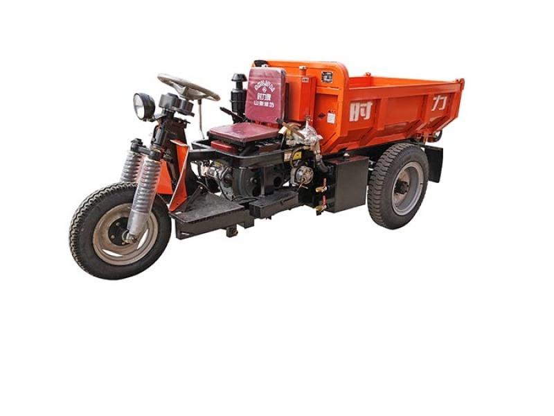 江西3吨井下矿用载重三轮车巷道矿渣运输三轮车