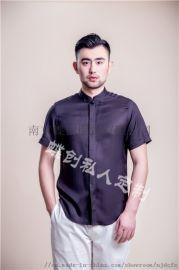 南京男士西装  短袖商务衬衫定制 蝶创私人定制