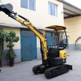 履带式小挖机  果园农用小型挖土机  2吨微挖机