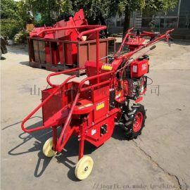 小型玉米收获机 手扶苞米收获机