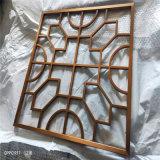 常州教堂仿木紋鋁花格窗 不規則造型仿古鋁花格窗
