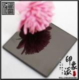 專業生產304精8K黑鈦金不鏽鋼鏡面板