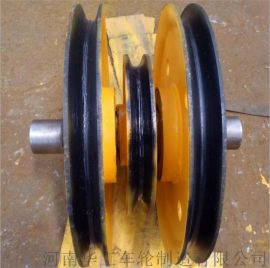 16t天车铸钢滑轮组 滑车滑轮组 轧制滑轮片