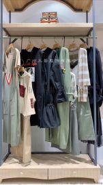 白沙女杭州品牌尾货女装海贝一线**一手货源打包走份