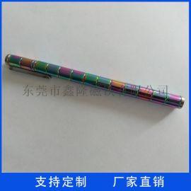 厂家直销 磁力笔磁铁 镀金磁环 钕铁硼强磁