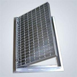 定制不锈钢/热镀锌排水沟格栅盖板 加厚平台钢格栅