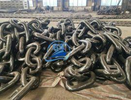 启琛船舶设备有限公司 95mm锚链 DNV 证书到达大连船厂 锚链现货供应Z