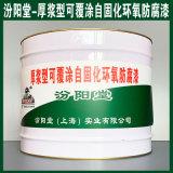 厚浆型可覆涂自固化环氧防腐漆、涂膜坚韧
