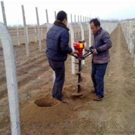 水泥杆钻孔机 拖拉机挖坑机 打坑机型号规格y2