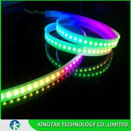 LED幻彩灯带3535      144灯幻彩跑马灯条     5V幻彩  内置IC SK6812