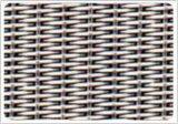 低碳钢编织轧花网8目