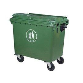 660L塑料垃圾桶, 660升塑料垃圾箱, 660环卫垃圾车